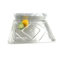 Disposable Aluminum Half Sheet Cake Pan - Case of 100 #7300NL