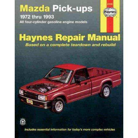 Mazda B1600 Pickups, 1972-1993