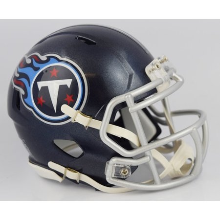 (Tennessee Titans Helmet Riddell Replica Mini Speed Style 2018)