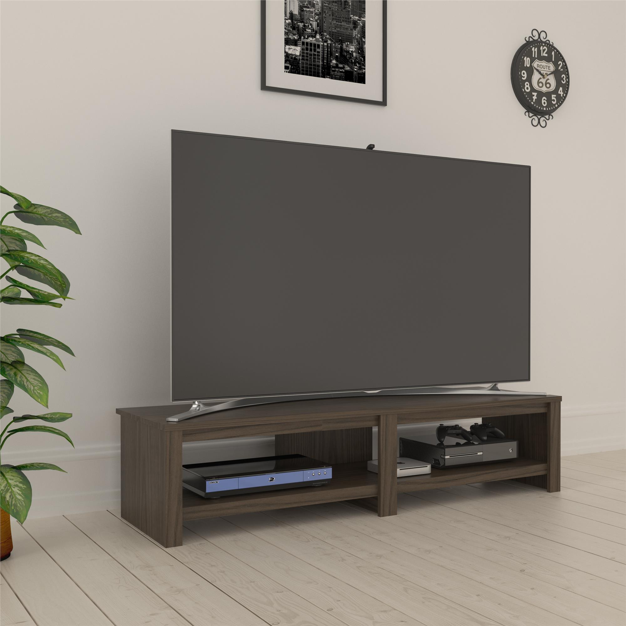 "Ameriwood Basics Tally TV Stand for TVs up to 74"", Multiple Colors"