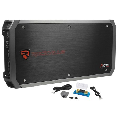 "Rockville 3000w Mono Amplifier Amp For 2) Kicker 44CVX154 Comp VX 15"" Subwoofers"