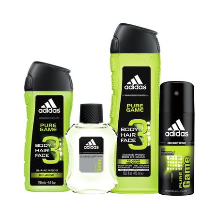 f9aefb52970 Adidas Pure Game Blockbuster Personal Care Holiday Gift Set for Men, 4 pc