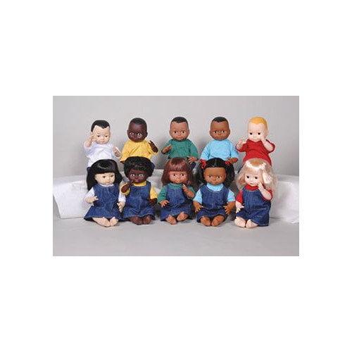Marvel Education Company Dolls Multi-ethnic 10-doll School