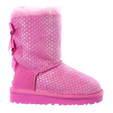 UGG Australia  Bailey Bow Splash  - Girls (Pink Bows Uggs)