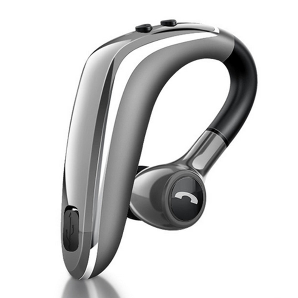 Amgra Bluetooth Headset Wireless V5 0 Business Bluetooth Earpiece In Ear Lightweight Sweatproof Earphones With Mic Work For Cell Phones For Office Workout Driving Walmart Com Walmart Com
