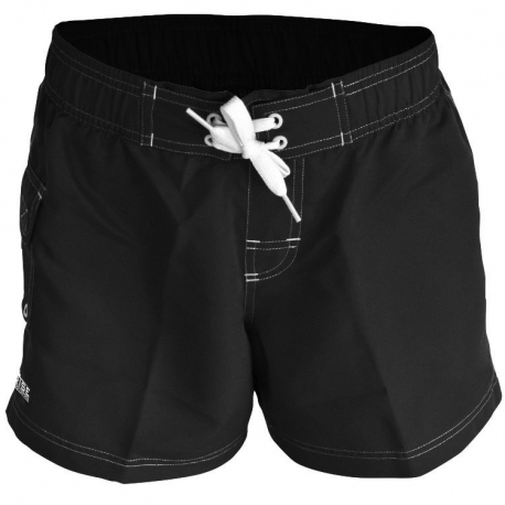RISE Solid Female Board Short - black, small