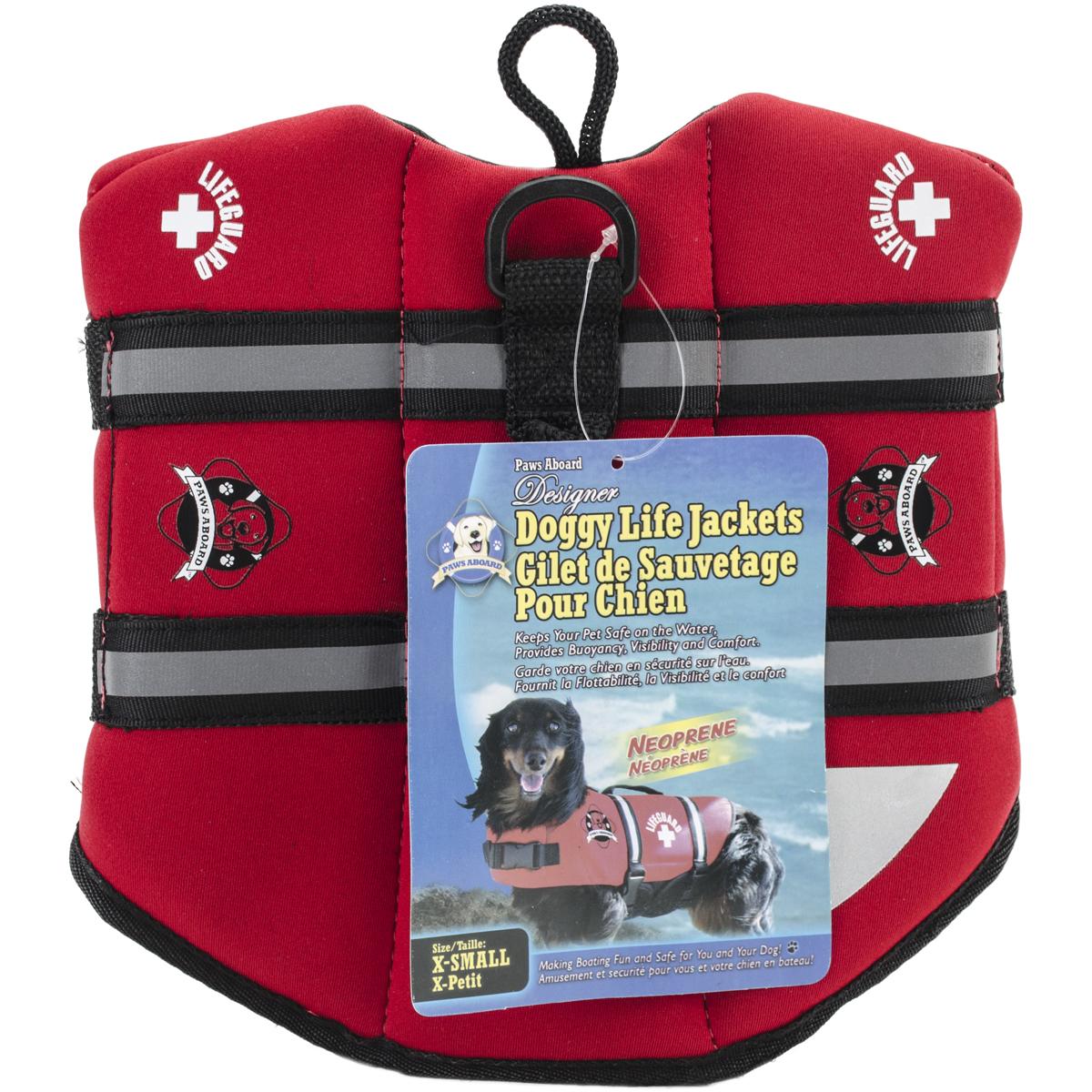 Paws Aboard Lifeguard Neoprene Doggy Life Jacket
