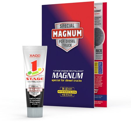 Xado 1 Stage Magnum Revitalizant 60K Treatment and Additive for Heavy Duty Diesel