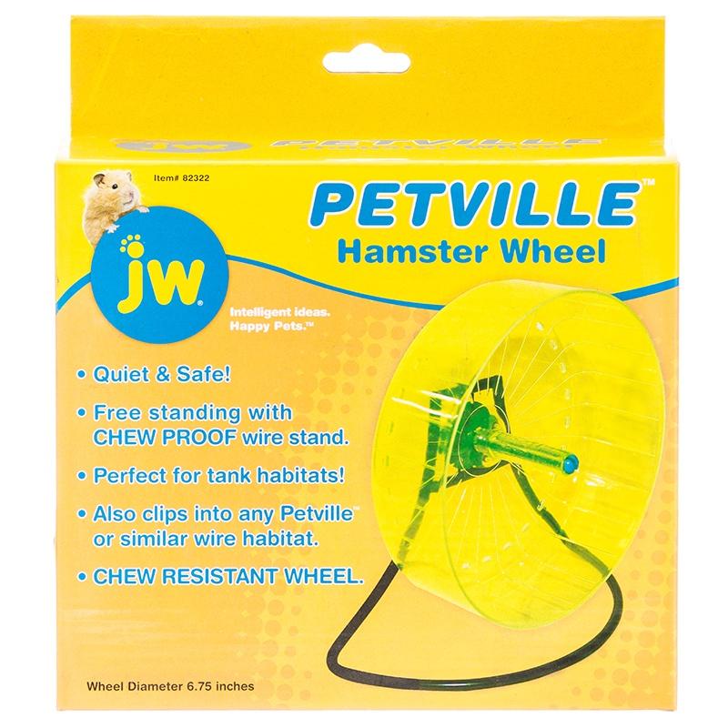 "JW Petville Hamster Wheel 6.75\"" Diameter Wheel"