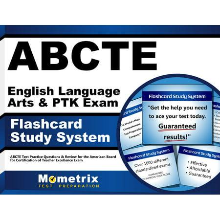 ABCTE English Language Arts & PTK Exam Flashcard Study System: ABCTE ...