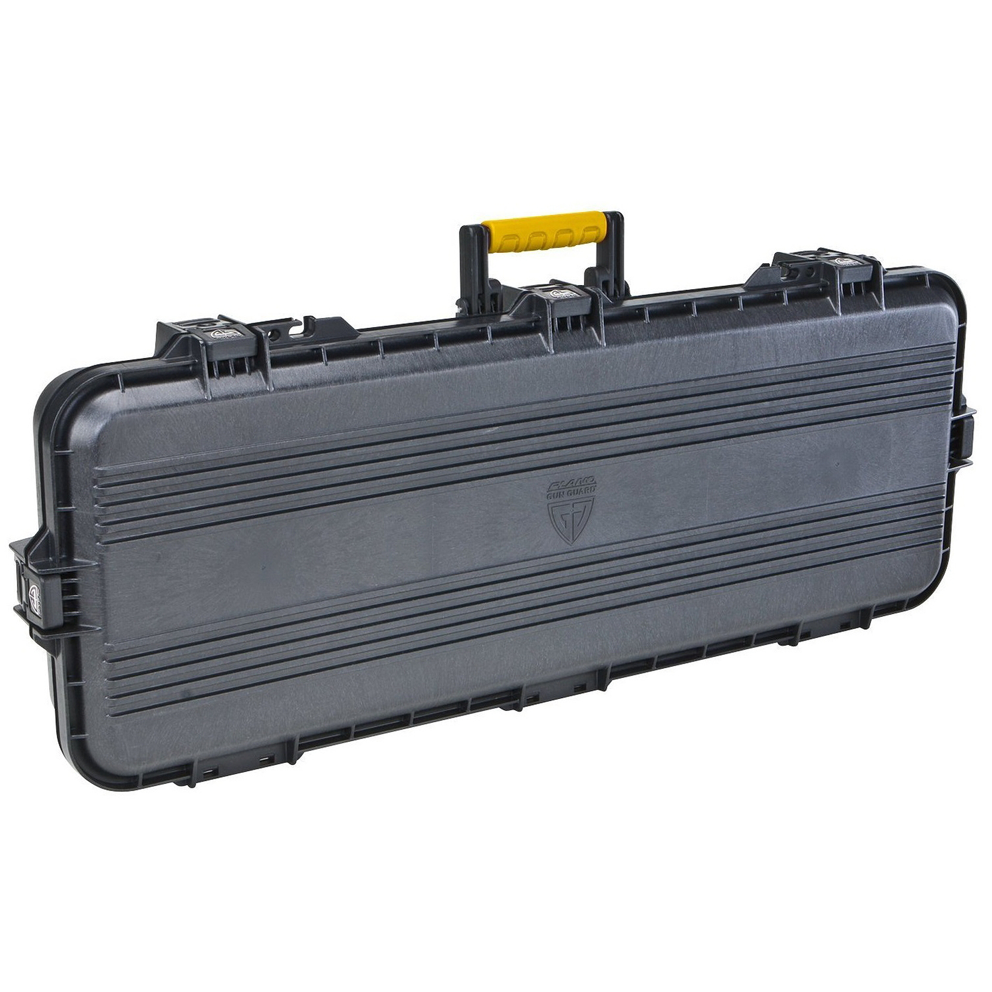 "Plano AW 36"" Case, Black with Yellow Latches and Handle"