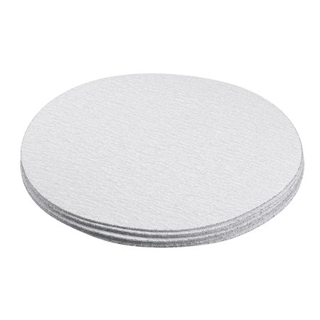 10 Pcs 6-Inch Aluminum Oxide White Dry Hook and Loop Sanding Discs 180 Grit - image 3 of 5