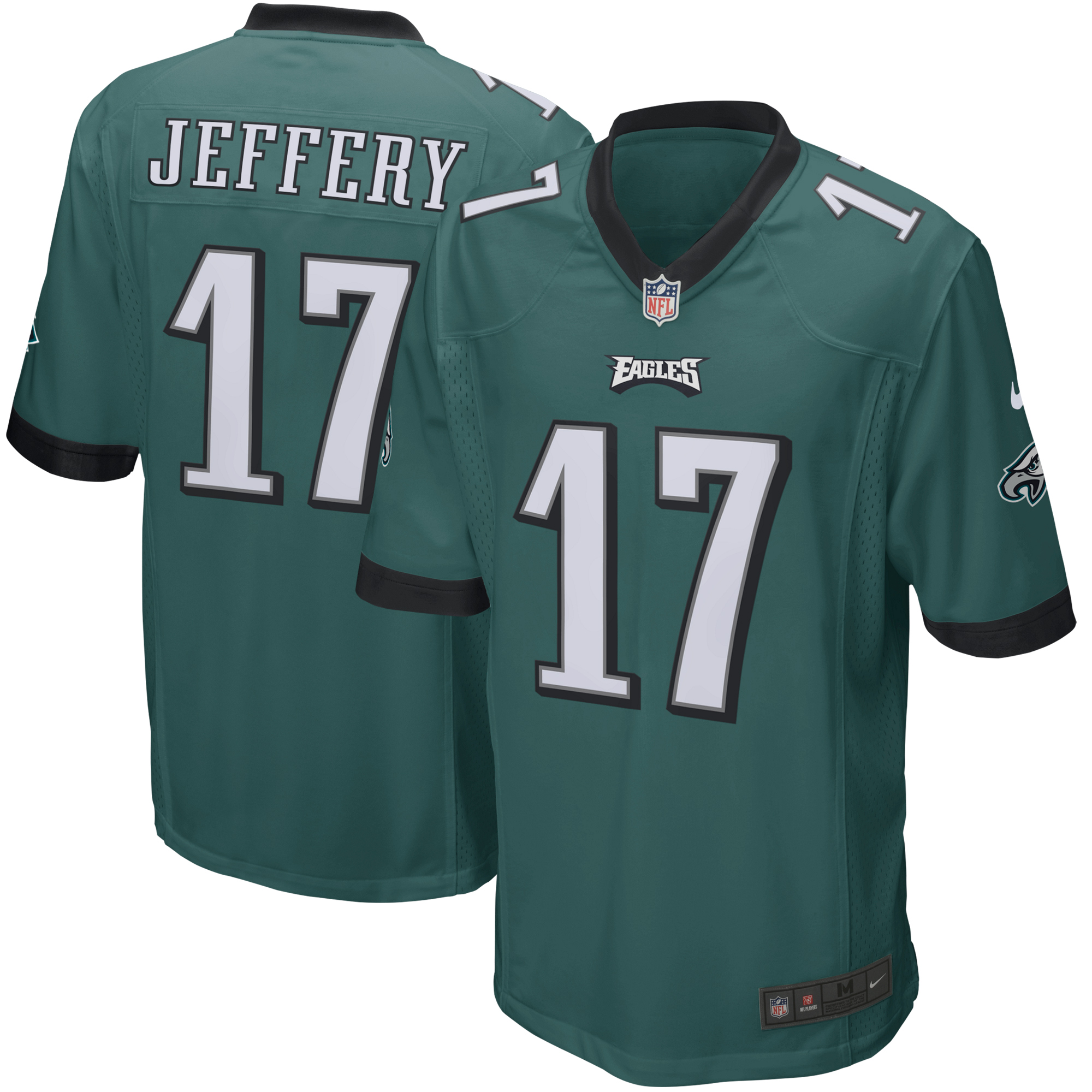 Alshon Jeffery Philadelphia Eagles Nike Youth Game Jersey - Green