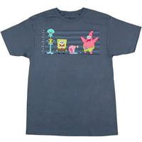 Spongebob: Bikini Bottom Lineup T-Shirt