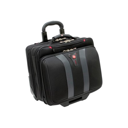 "SwissGear Granada Wheeled Case for 17"" Laptops, Black"