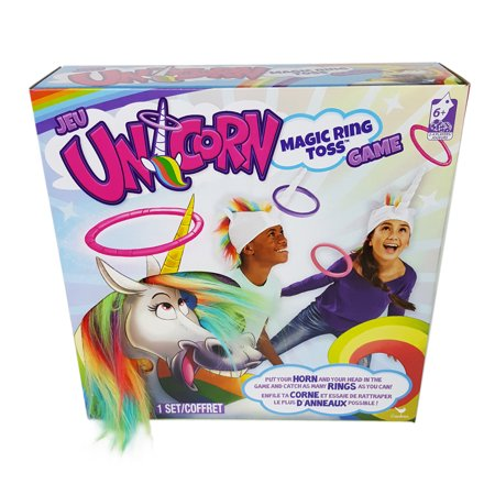 Unicorn Magic Ring Toss Game (Fish Toss Game)