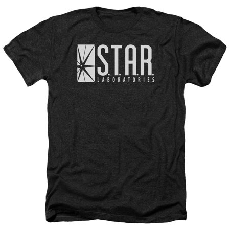 The Flash S T A R  Mens Heather Shirt