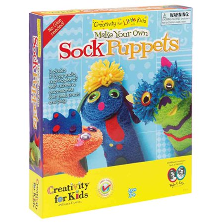 Make Your Own Sock Puppets - Halloween Puppet Show Ideas
