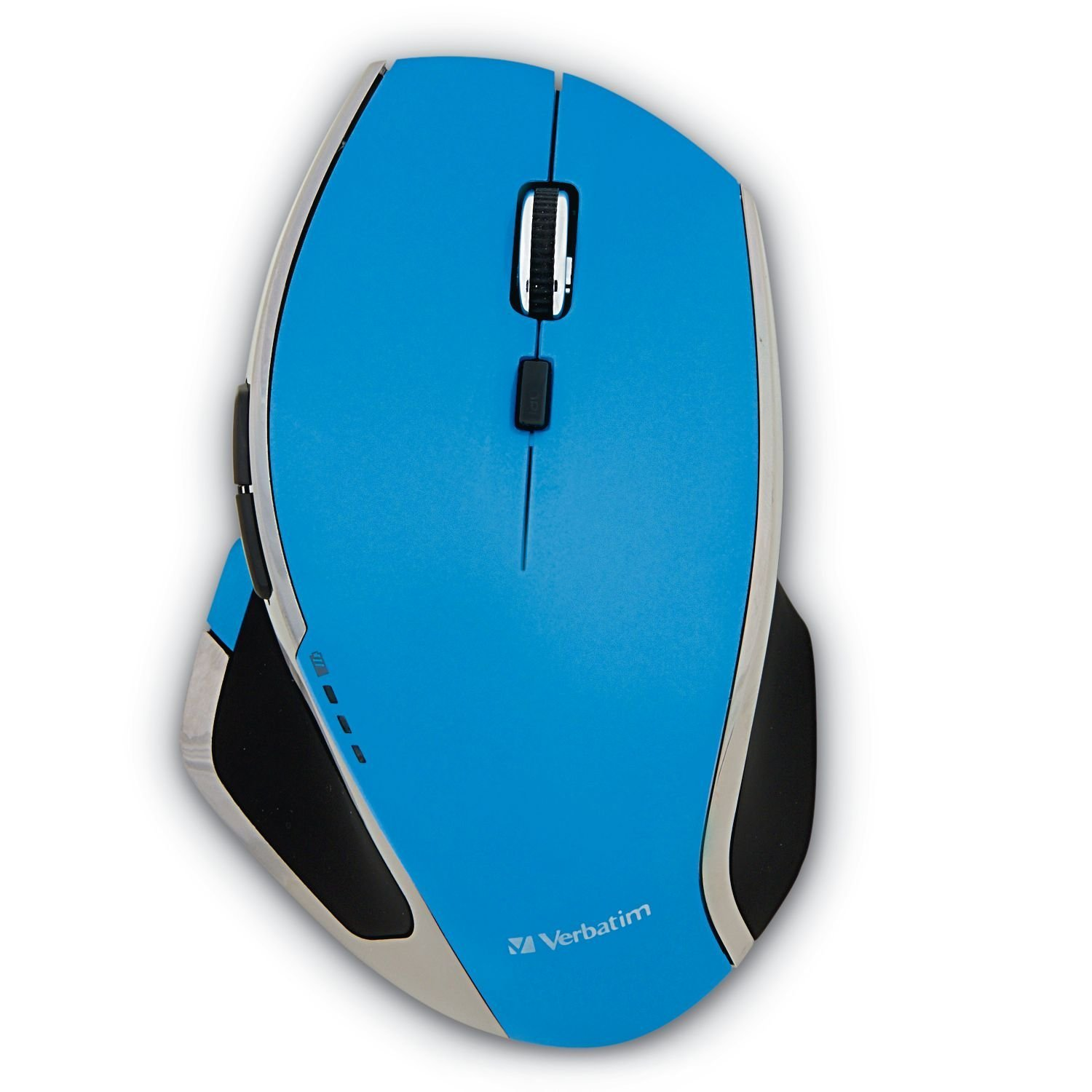 Led Gaming Mouse, Blue 8-button Portable Usb Ergonomic 2.4ghz Wireless Mouse