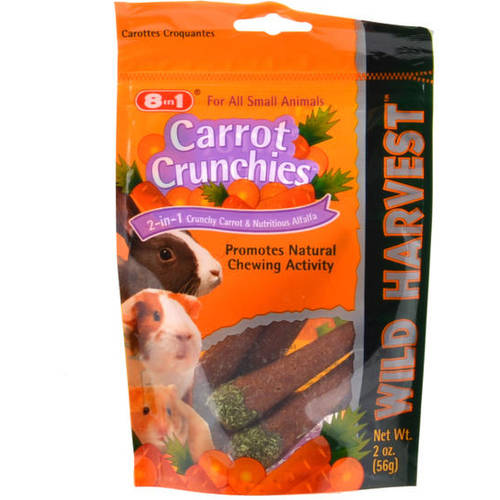 UNITED PET GROUP Gerbil & Hamster Treats, Carrot Crunchies, 2-oz. by Generic