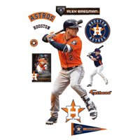 Alex Bregman Houston Astros Fathead 11-Pack Life-Size Removable Wall Decal - No Size