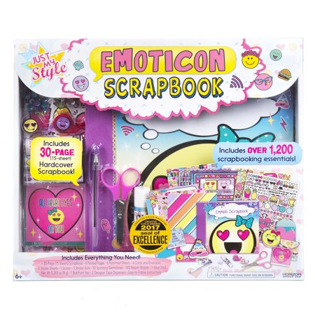 Horizon Group Just My Style Emoticon Scrapbook, 1 - Owl Scrapbook Paper