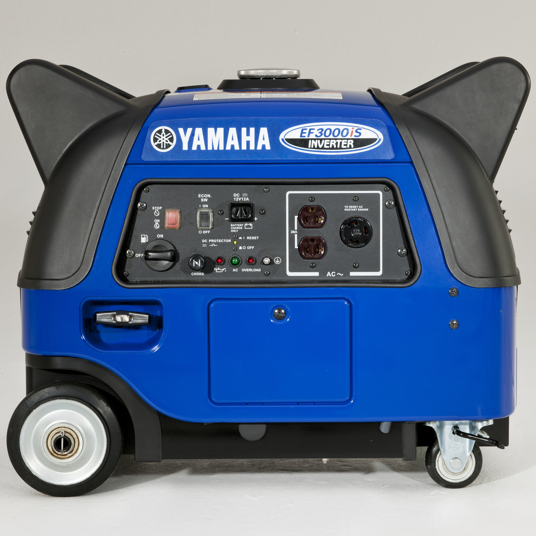 Yamaha EF3000iS 3,000 Watt Gas Powered Portable RV Power Inverter Generator