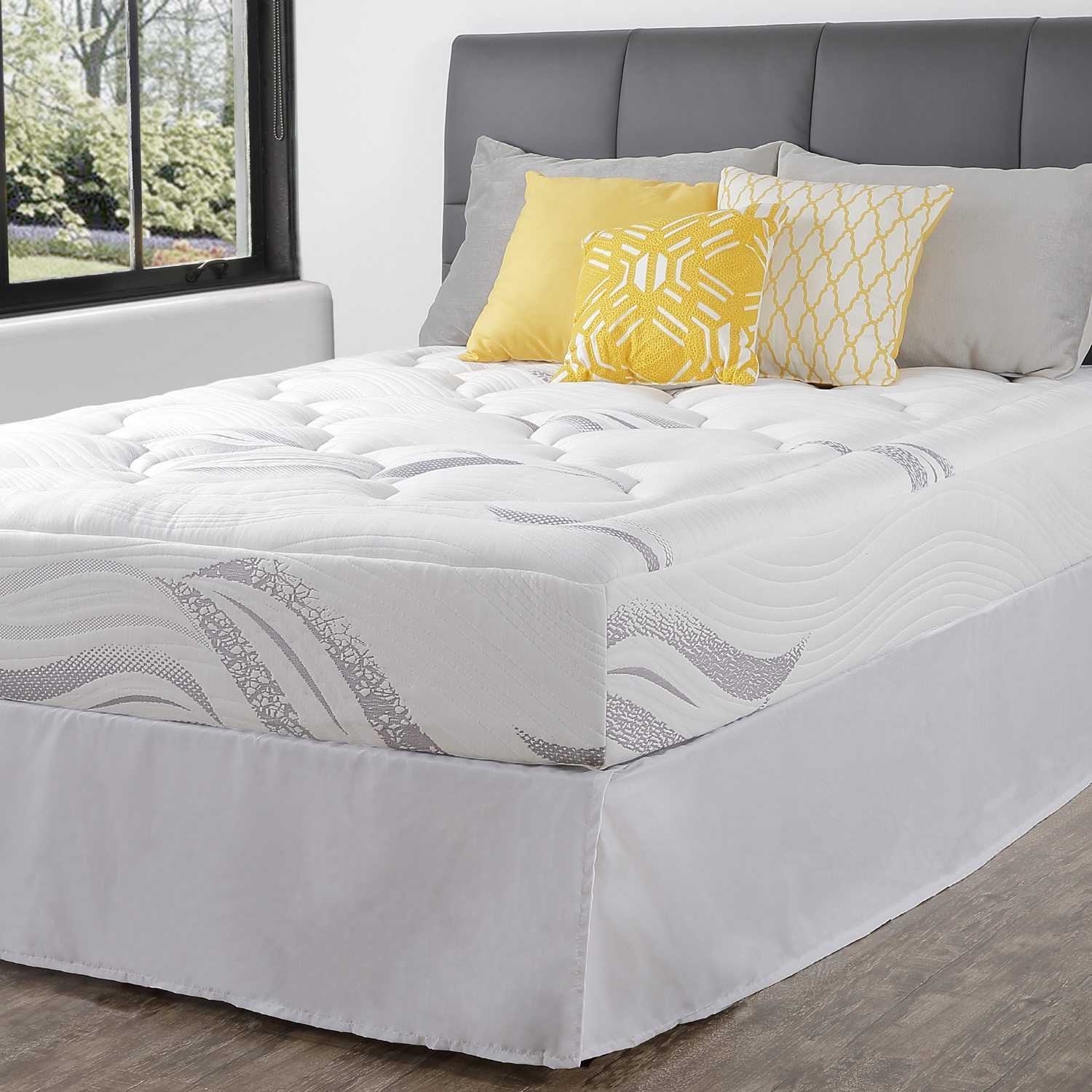 "Spa Sensations 10"" Cloud Memory Foam Mattress, Multiple Sizes"