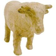 """Paper-Mache Figurine 4.5""""-Cow"""
