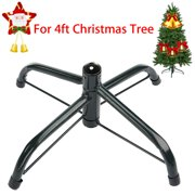 green metal folding christmas tree stand holder for artificial trees 4ft tall - Christmas Tree Stands For Large Trees