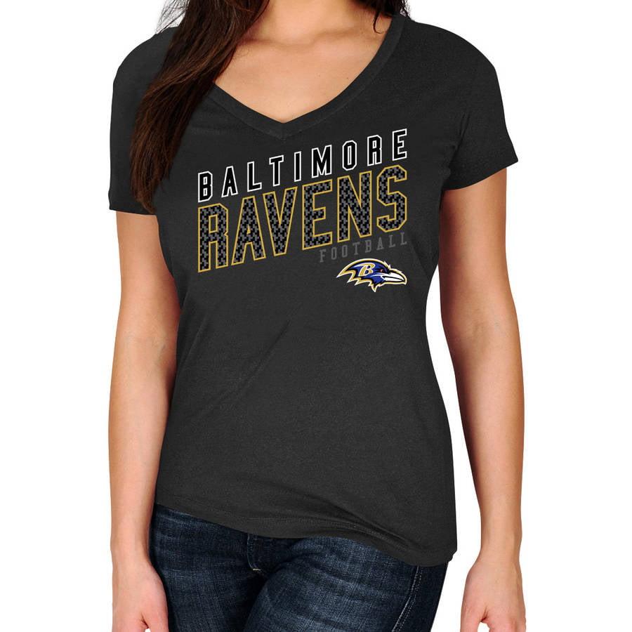 NFL Baltimore Ravens Plus Size Women's Basic Tee
