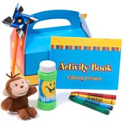 Curious George Filled Party Favor Box