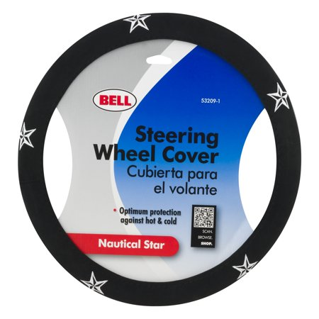 - Bell Steering Wheel Cover Nautical Star, 1.0 CT