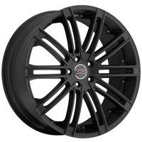 "Milanni 9032 Kahn 18x8.5 5x4.5"" +12mm Satin Black Wheel Rim 18"" Inch"
