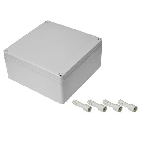 200mm x 200mm x 95mm Dustproof IP65 Junction Box DIY Case