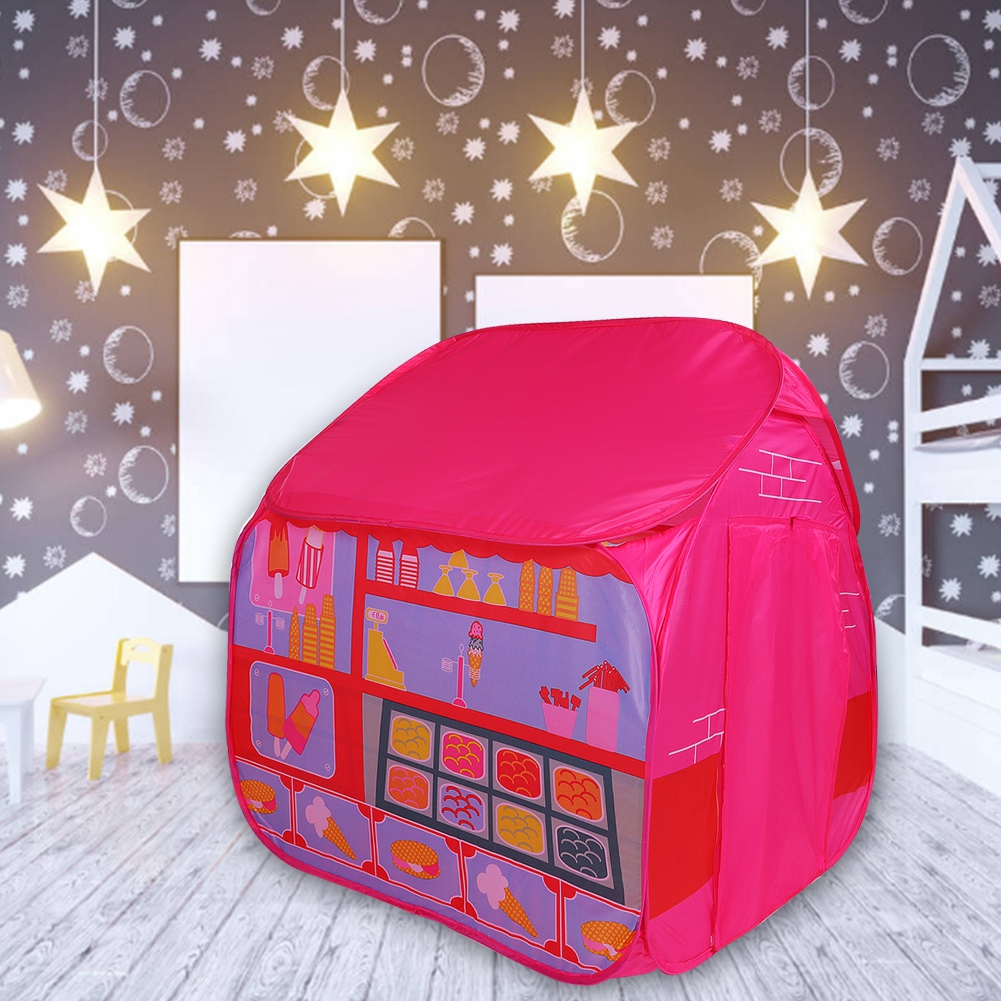 Walfront Princess Castle Play House Large Indoor Outdoor