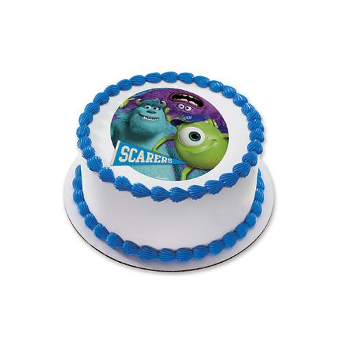 Monsters Inc 7534 Round Edible Cake Topper Each Party