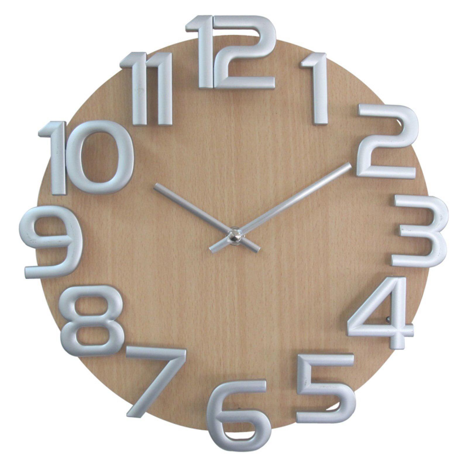Control Brand Verichron Dimensions 12.5 in. Wall Clock