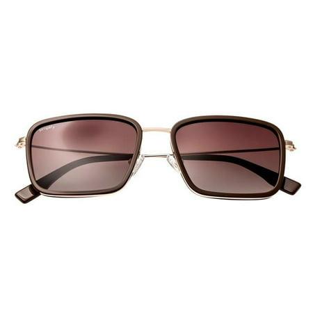simplify sunglasses 103-tr parker acetate frame sunglasses, dark brown & (Warby Parker Sunglasses Mens)