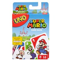UNO Card Game Super Mario Theme for 2-10 Players Ages 7Y+