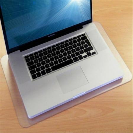 Desktex PVC Anti-Slip Rectangular Lap Top Mat, Pack of 2