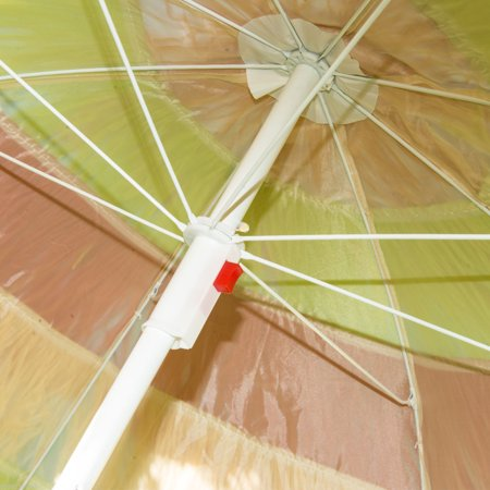 Tiki Beach Outdoor Umbrella - Adjustable and Lightweight - multicolour - image 5 of 7