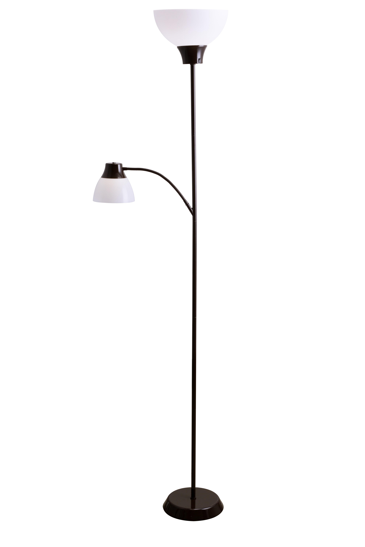 Mainstays 6ft LED Floor Lamp with Reading Light - Walmart.com