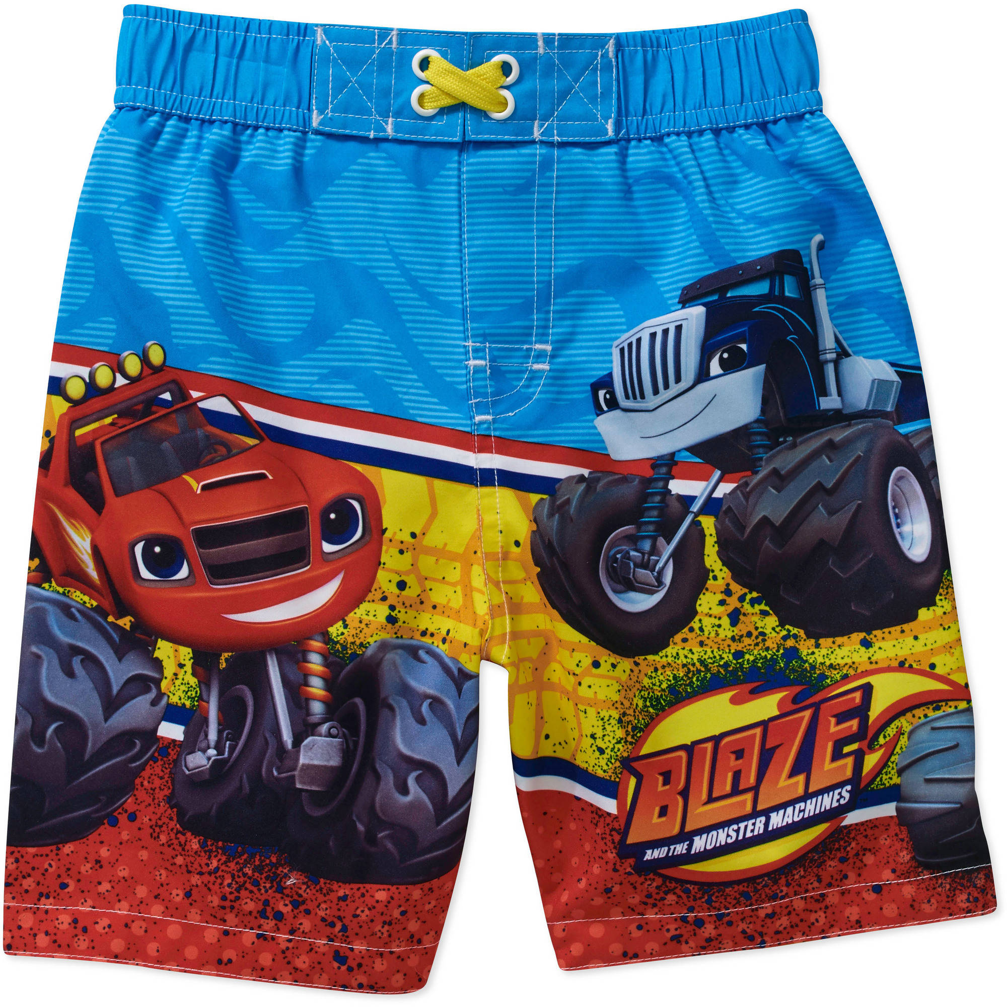 Nickelodeon Blaze and the Monster Machines Toddler Boy Swim Trunks