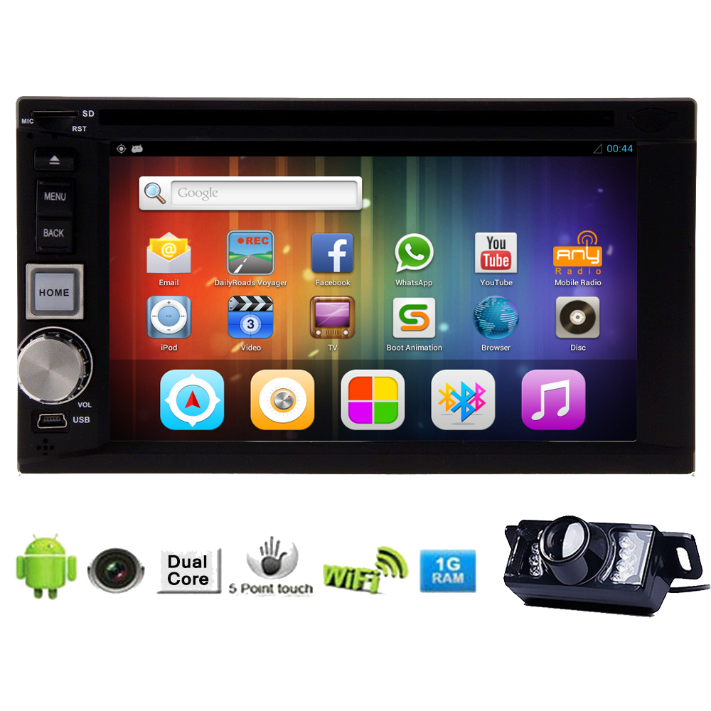 Android 5.1 GPS Navigator Capacitive Touch Screen USB Blu...