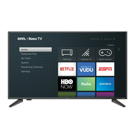 "onn. 40"" Class FHD (1080P) Roku Smart LED TV (100005395)"