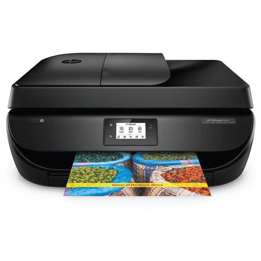 HP Officejet 4650 All-in-One Printer/Copier/Scanner/Fax Machine