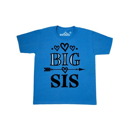 Big Sis Girls New Sister Announcement Youth T-Shirt