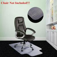 "Ktaxon 36"" X 48"" Clear Chair Mat Home Office Computer Desk Floor Carpet PVC Protector"