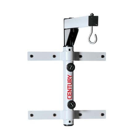 Century Martial Arts 100 Pound Steel Wall Mount Heavy Duty Punching Bag Hanger (Happy Halloween Martial Arts)